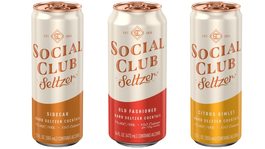 AB InBev Unveils New Line of Cocktail-Inspired Social Club Hard Seltzers