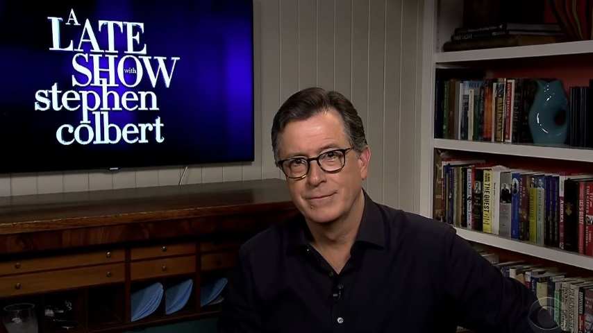 Stephen Colbert Looks at Dr. Fauci's Senate Testimony and Bernie's Red Hot Chili Peppers Fandom
