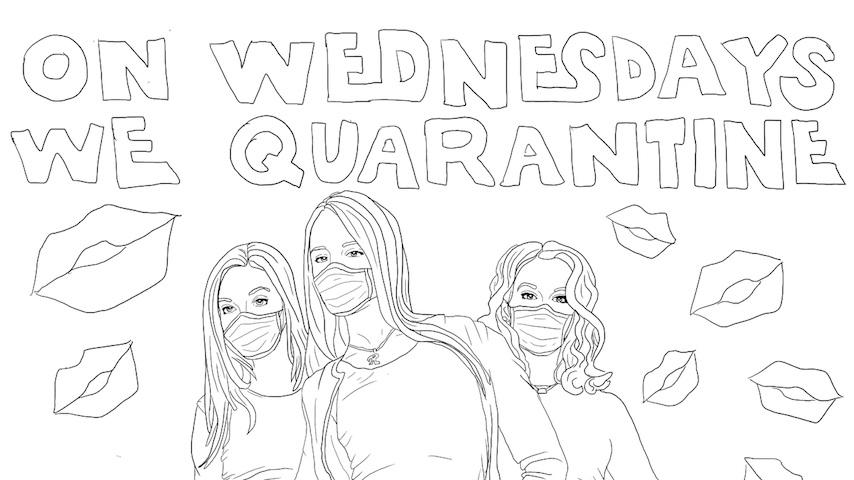 Coloring Quarantine: Download Coloring Pages Inspired By <i>Game of Thrones</i>, <i>Mean Girls</i> & More