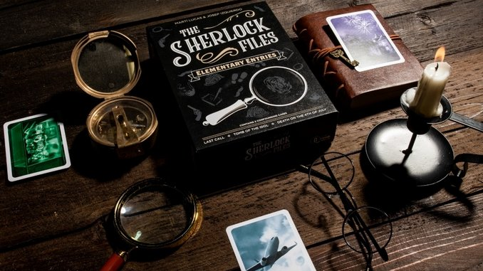With <i>The Sherlock Files: Elementary Entries</i>, Mystery Is in the Cards