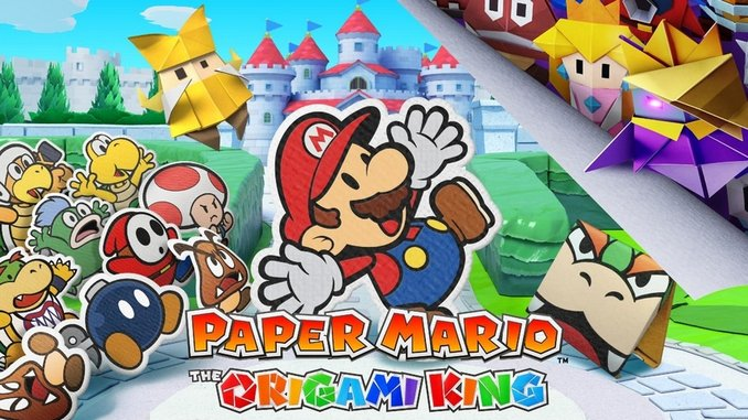 Paper Mario Returns on the Switch With an Origami Twist