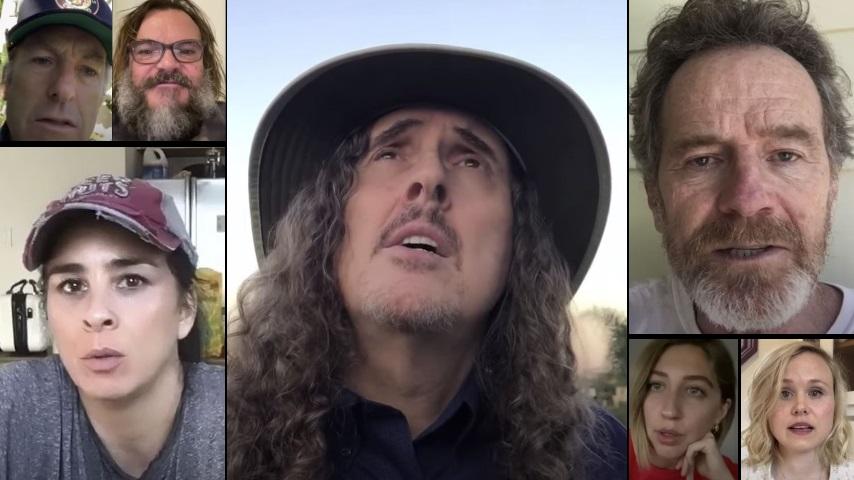 "Watch an All-Star Team of Celebrities Sing a Heart-stirring, Empowering Version of Weird Al's ""Eat It"""