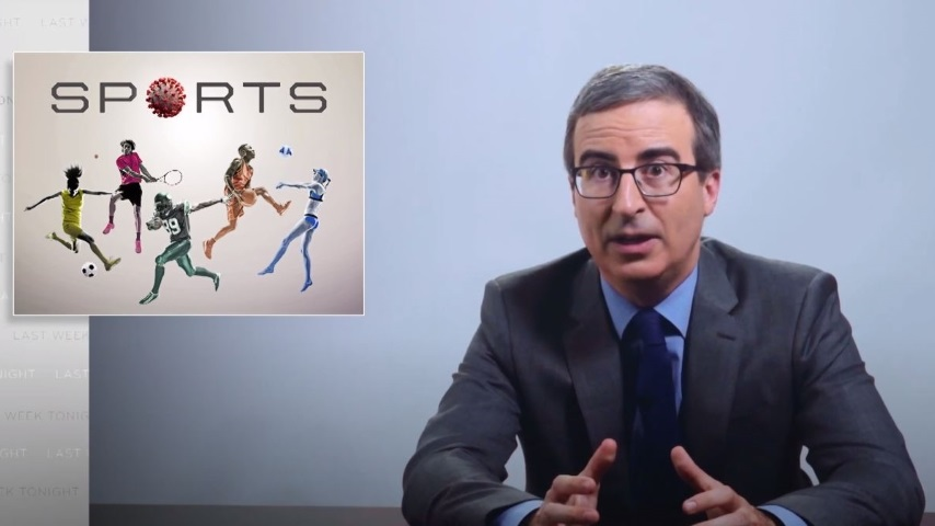 John Oliver Examines the Relationship Between Sports and the Coronavirus—and Introduces Your New Sports Obsession