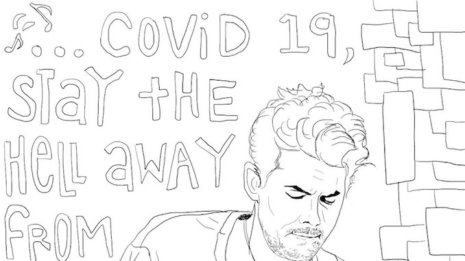 Coloring Quarantine: Download Coloring Pages Inspired By John Mayer, <i>Dazed and Confused</i> & More