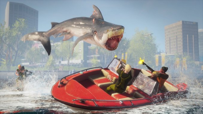 The Grisly, Goofy Shark Game <i>Maneater</i> Is Kept Afloat by a Great Central Mechanic
