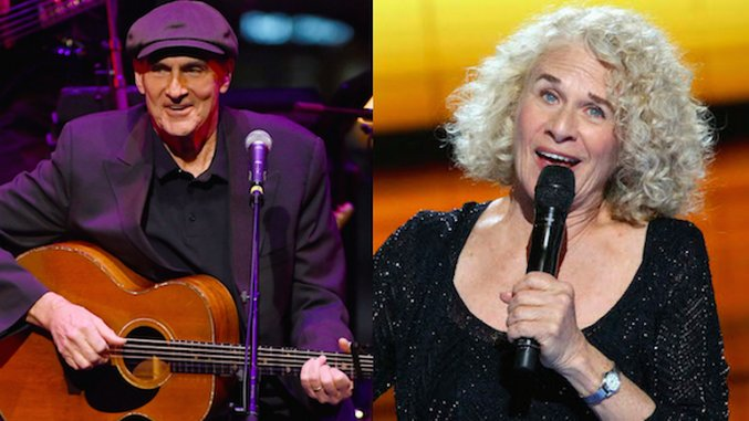 """Hear James Taylor Cover Carole King's """"You've Got a Friend"""" on This Day in 1974"""