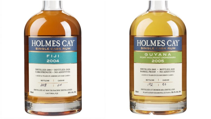 Tasting: Holmes Cay Fiji 2004 and Guyana 2005 Rums