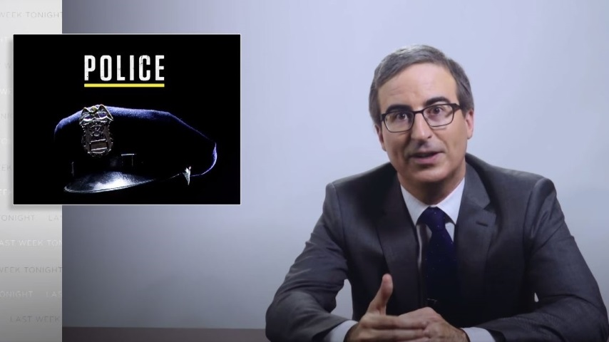 John Oliver Looks at Police Violence and Racism, and What Defunding the Police Would Mean