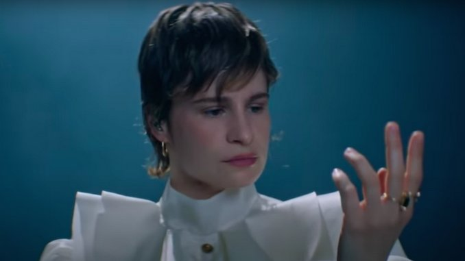 """Watch Christine and the Queens Perform """"I Disappear in Your Arms"""" on <i>Fallon</i>"""