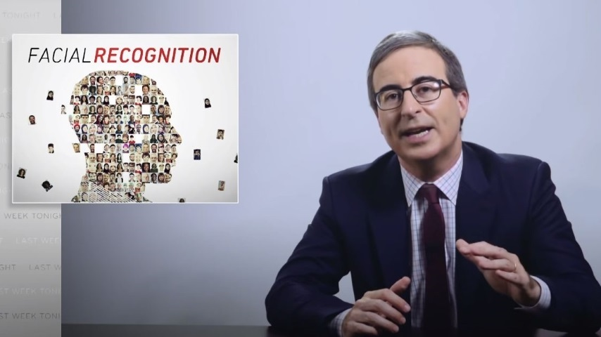 John Oliver Warns Against Facial Recognition's Violation of Our Privacy and Its Use by Law Enforcement