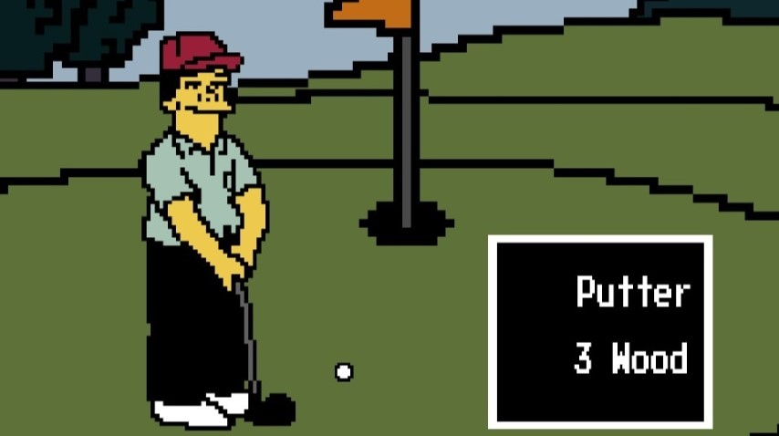 Someone Created a Playable Version of <I>Lee Carvallo's Putting Challenge</I> from <I>The Simpsons</I>