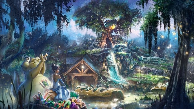 Disney Is Officially Retheming Splash Mountain to <i>The Princess and the Frog</i>