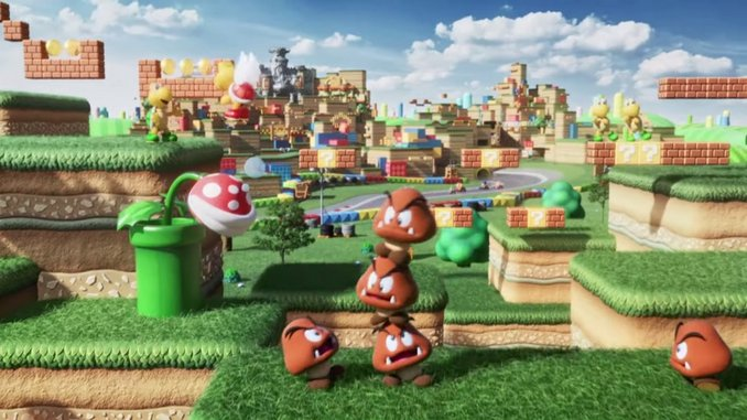 Here's a Sneak Peek of Universal's Super Nintendo World in Action