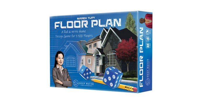 The Roll-and-Write Board Game <i>Floor Plan</i> Rewards You For Building Impractical Houses Like a Rich Fool