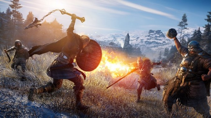 When Vikings and Assassins Meet: Watch Us Play 20 Minutes of <i>Assassin's Creed Valhalla</i>
