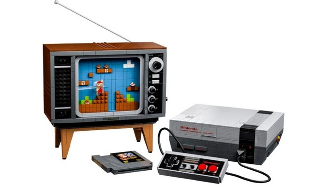 LEGO and Nintendo Reveal a Buildable NES Set, Complete with a TV Playing <i>Super Mario Bros.</i>