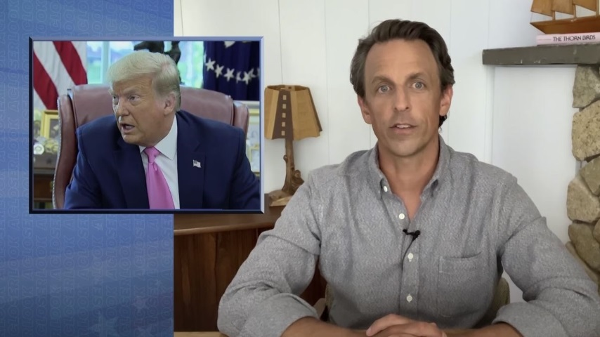 Seth Meyers Takes a Closer Look at Trump's Disastrous Fox News Interview and More