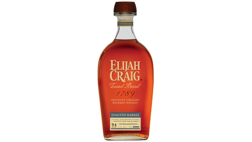Heaven Hill Announces Elijah Craig Toasted Barrel Bourbon