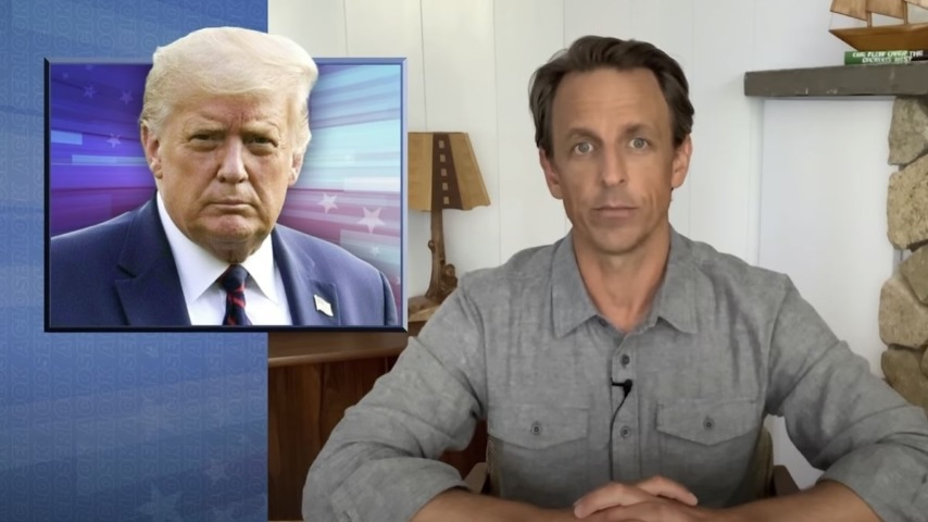 Seth Meyers Takes a Closer Look at Trump Threatening to Delay the Election