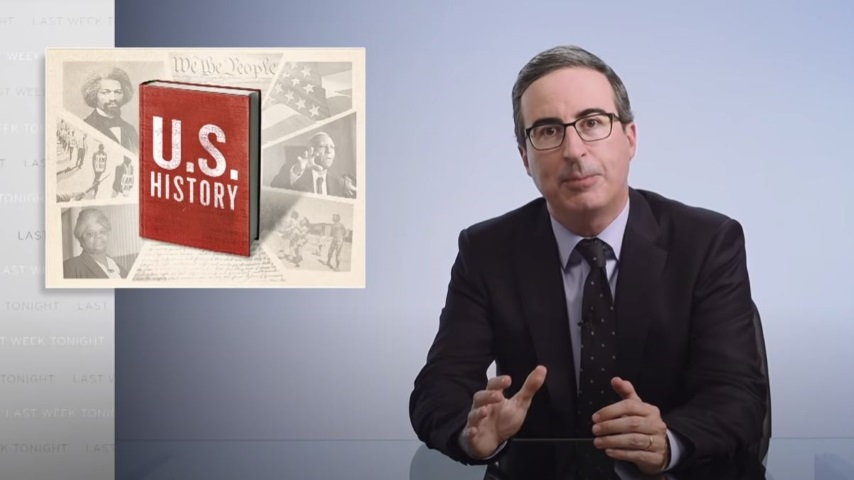 John Oliver Looks at America's Refusal to Understand Its History of White Supremacy