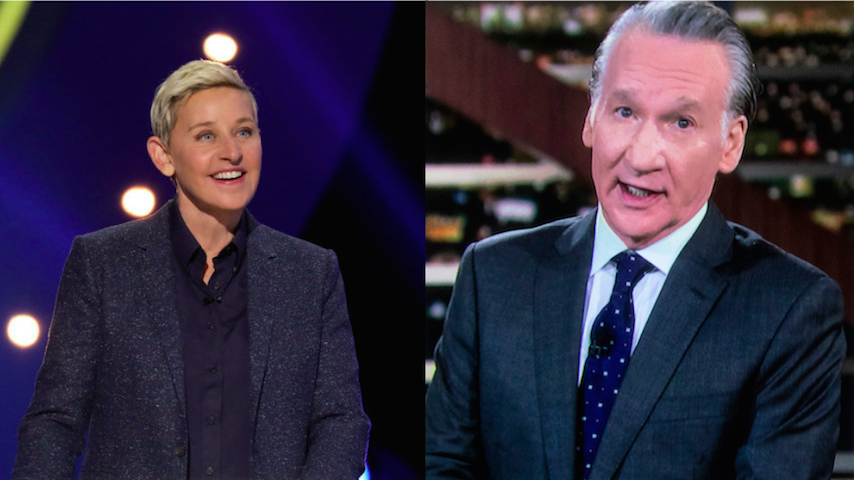 We Deserve Better Than Ellen DeGeneres and Bill Maher