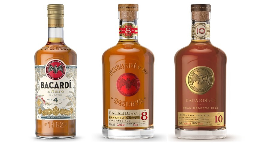 Tasting: Bacardi 4, 8 and 10-Year Aged Rums