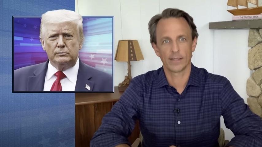 Seth Meyers Takes a Closer Look at Trump's Continued Coronavirus Lies