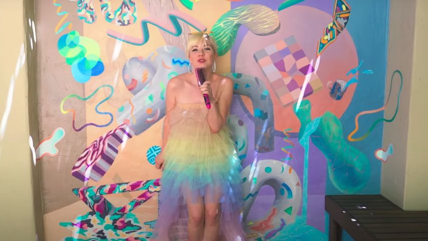 "Carly Rae Jepsen Shares Video For New Song ""Me And The Boys In The Band"""
