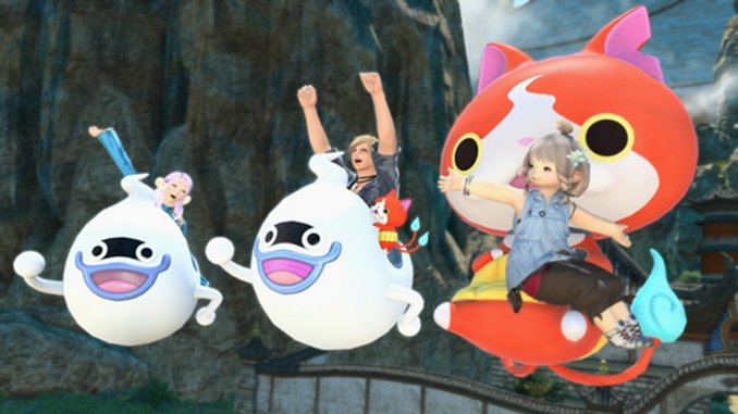 A Yo-Kai Watch Collaboration Is Coming to <i>Final Fantasy XIV Online</i> Today