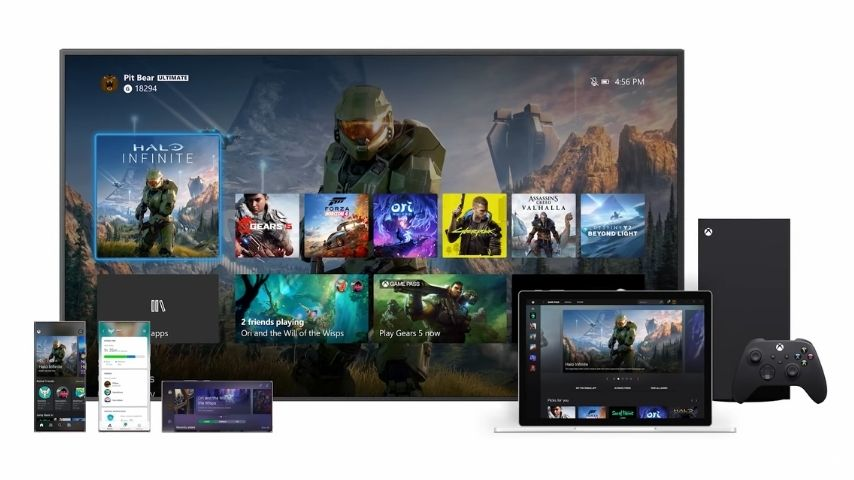 Xbox Teases New, Streamlined User Experience Launching With Xbox Series X