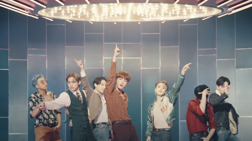 "BTS' New Song ""Dynamite"" Explodes Into Bright Disco Pop"