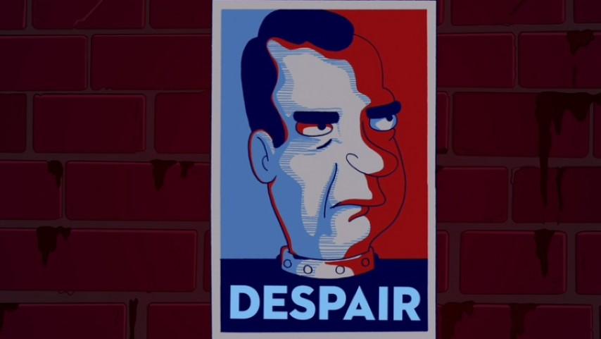 Remember When Richard Nixon Was the Most Corrupt President <i>Futurama</i> Could Imagine?