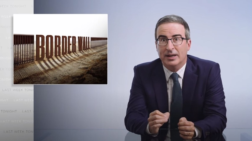 John Oliver Checks In on Trump's Absurd Border Wall on the Eve of the RNC