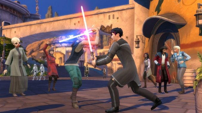 The Sims Go to Star Wars: Galaxy's Edge in Next <i>Sims 4</i> Game Pack
