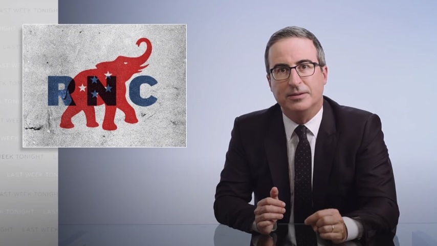 John Oliver Looks at the RNC, the Violence in Kenosha, and a Miserable Week for America
