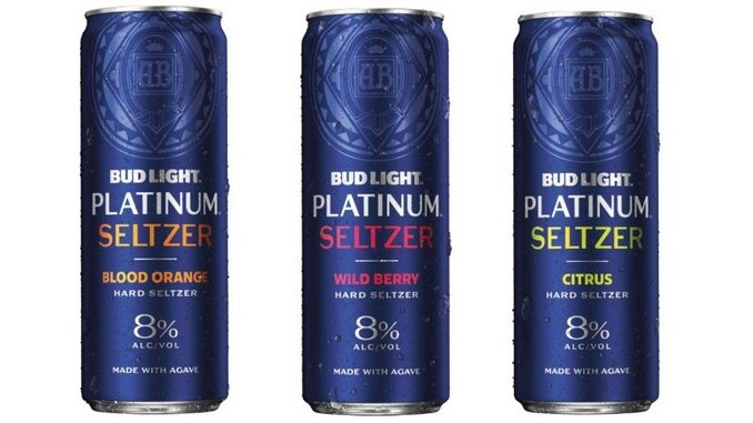 Anheuser Unveils New, High-Alcohol Bud Light Platinum Hard Seltzers