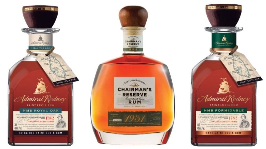 Tasting: Four Classic Saint Lucian Rums (Chairman's Reserve, Admiral Rodney)