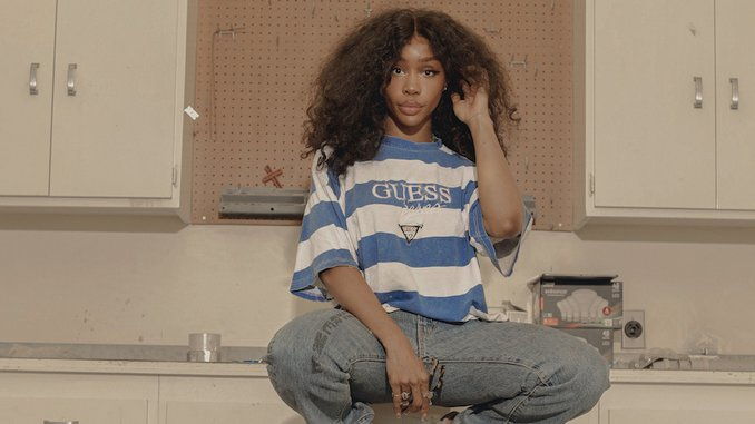 "Watch The Video For SZA's New Song ""Hit Different"" Feat. Ty Dolla $ign"