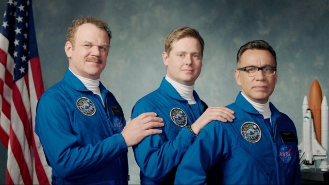 John C. Reilly, Tim Heidecker and Fred Armisen Are Ready to Visit the Moon in This <i>Moonbase 8</i> Trailer