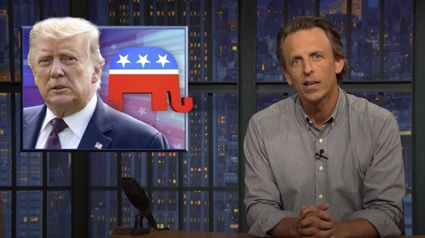Seth Meyers Wades into Trump's Latest Madness and the President's Complete Lack of Personal Responsibility