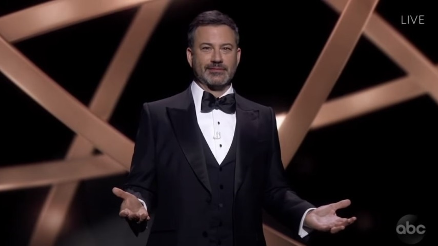 Watch Jimmy Kimmel Deliver His Emmys Monologue to the Audiences of Emmys Past