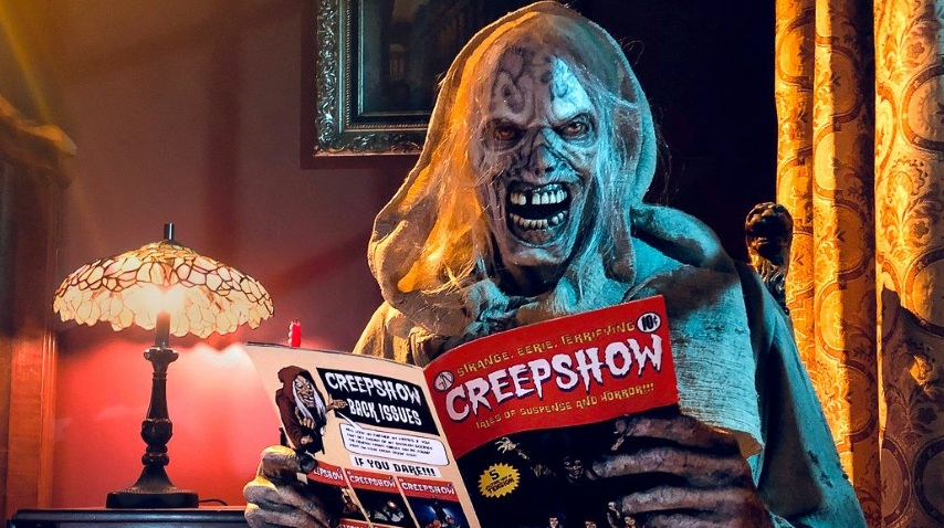 Shudder's <i>Creepshow</i> Is Getting an Animated Halloween Special From Stephen King, Joe Hill