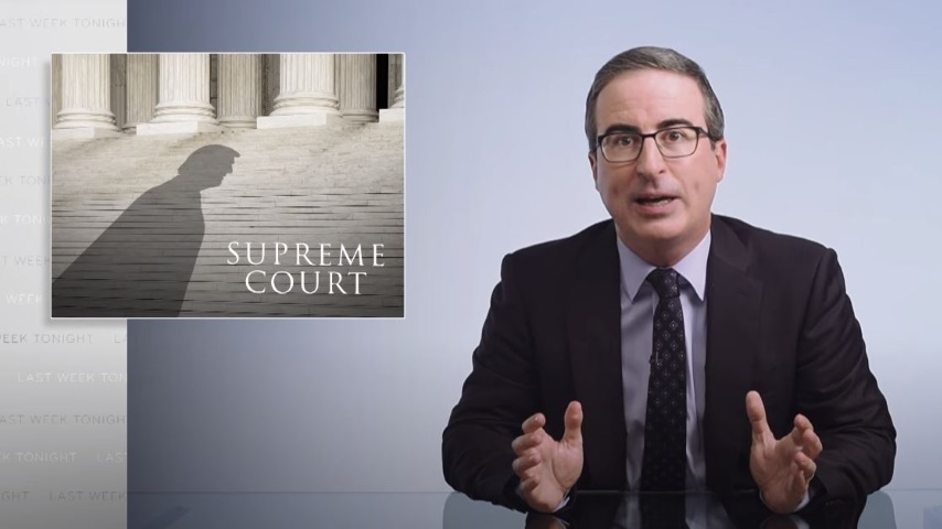 John Oliver Looks at the Supreme Court Fight and How to Fix America's Undemocratic System