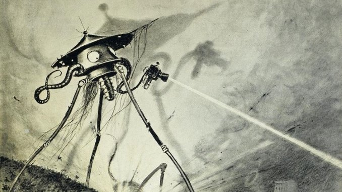 Listen to a Trailer for <i>Let's Get Lit</i>, a Podcast where Comedians Read H.G. Wells' <i>War of the Worlds</i>