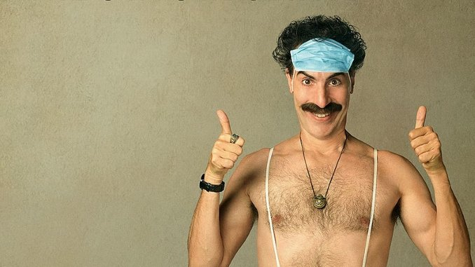 Here's the Trailer to that <i>Borat</i> Sequel