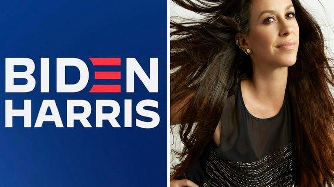 Alanis Morissette & <i>Jagged Little Pill</i> Cast To Host Biden Fundraiser