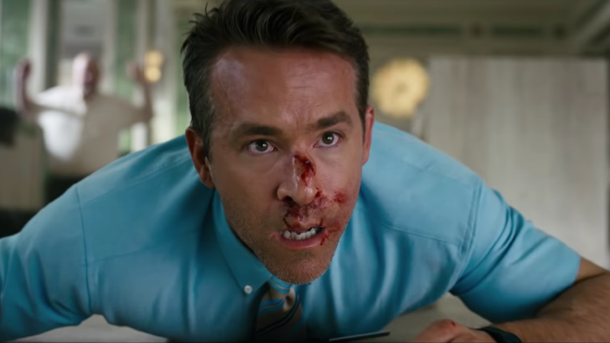 Ryan Reynolds Is In a Videogame Run Amok in the New Trailer for <i>Free Guy</i>