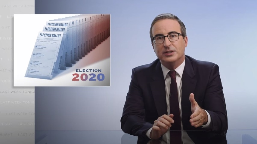 John Oliver Looks at the Republican Attempts to Undermine the 2020 Election