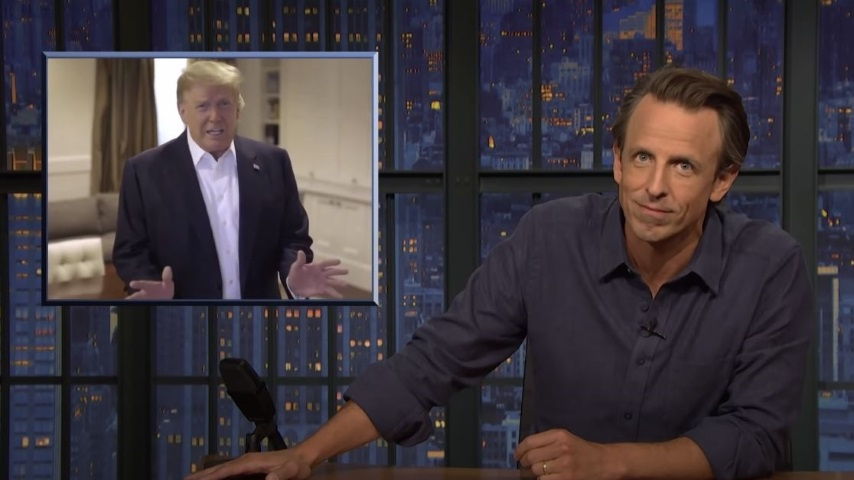 Seth Meyers Takes a Closer Look at Trump's Coronavirus Infection