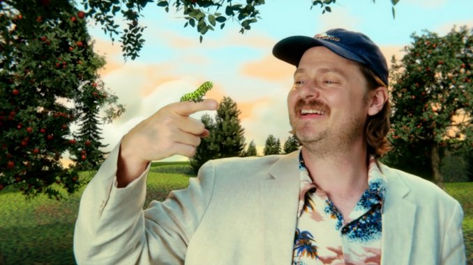 Tim Heidecker Prances Through an Animated Wonderland in His New Music Video